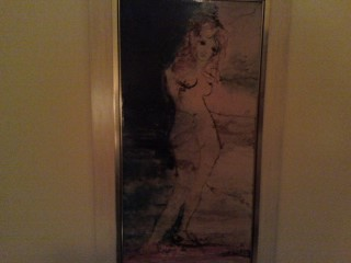 The Naked Lady In The Painting Is NOT Debi!