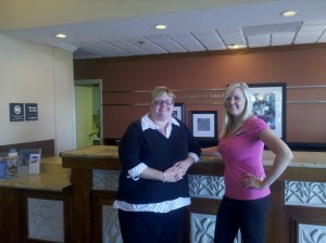 (on left) General Manager, Trish Wible (on right) Assistant General Manager, Kristin Klutz