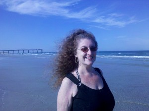 Enjoying the beach in St. Augustine, Florida