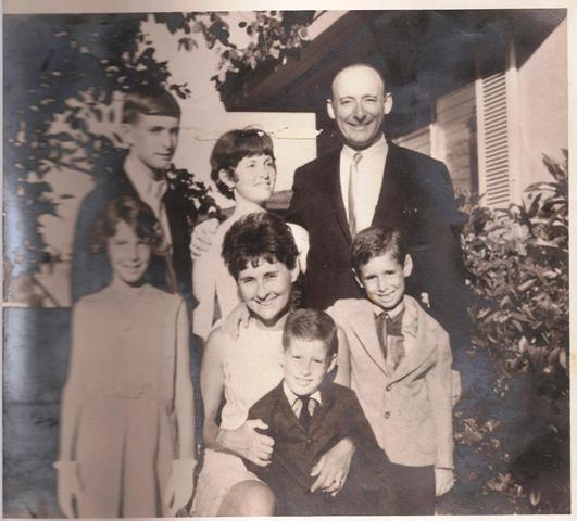 Debi and family 1964