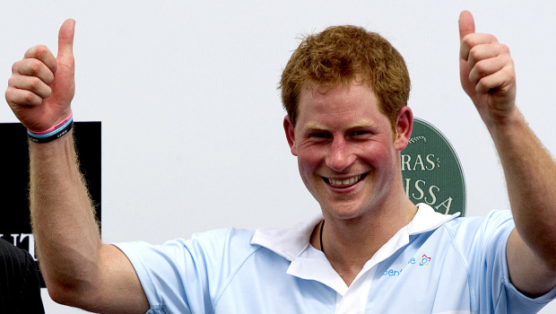 Britain's Prince Harry Gets Caught With His Pants Down-Oops!