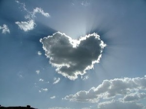 a heart cloud