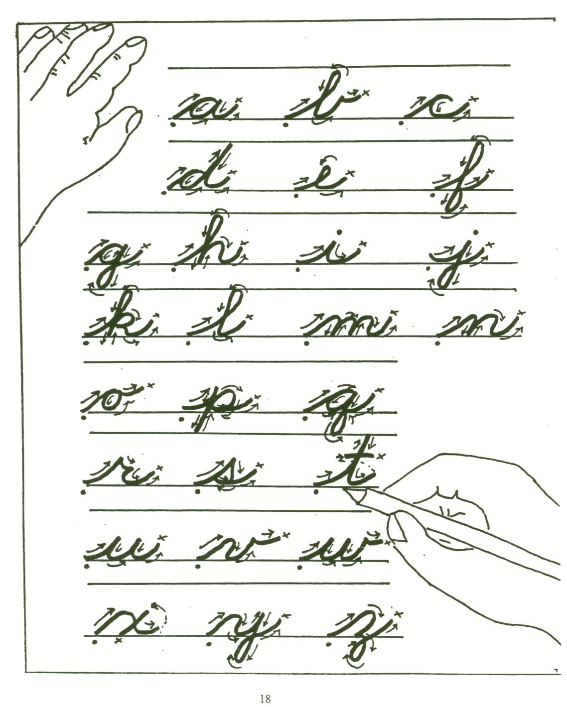 all the letters in cursive is verbal communication becoming extinct debi drecksler 866